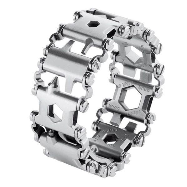 Multifunctional Bracelet Tool-Silver