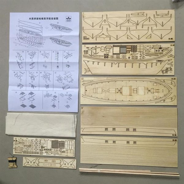 Wooden Sail Ship Building Kit - Hobby-Plans
