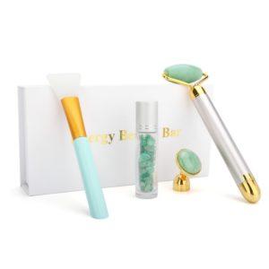 Electric Jade Face Massage Kit - 10