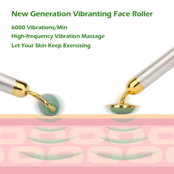 Electric Jade Face Massage Kit - 3