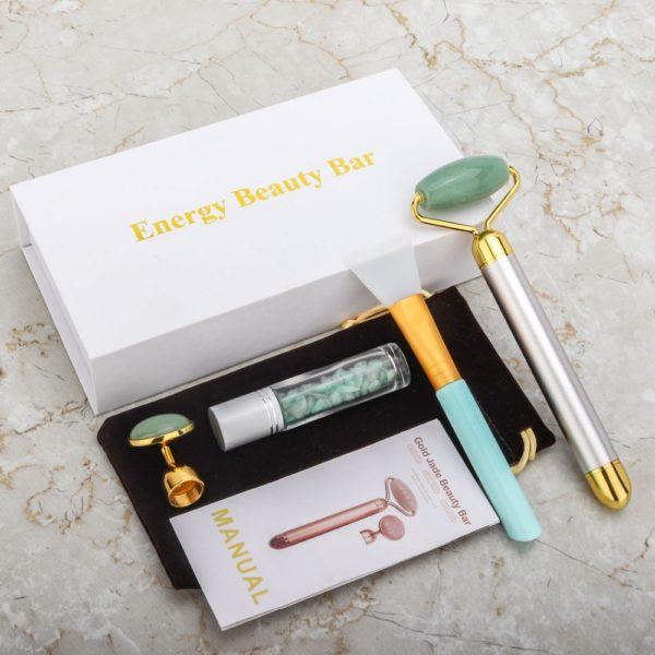 Electric Jade Face Massage Kit