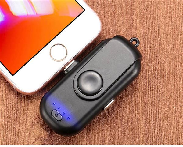 Portable Magnetic Power Bank Charger Kit - Black