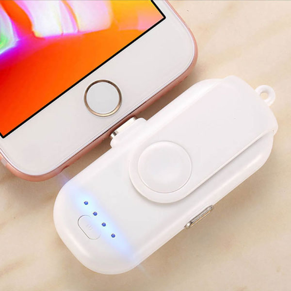 Portable Magnetic Power Bank Charger Kit - White
