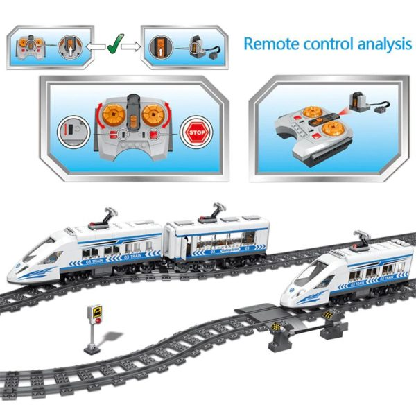 Remote-Controlled Train Set 1