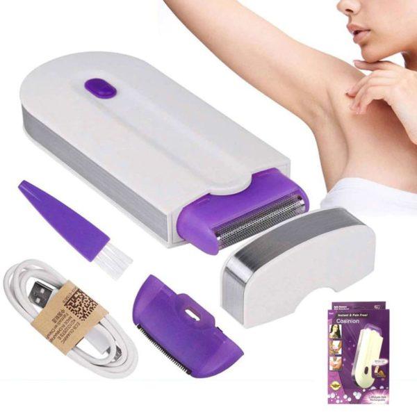 Women's Laser Epilator Shaver Kit