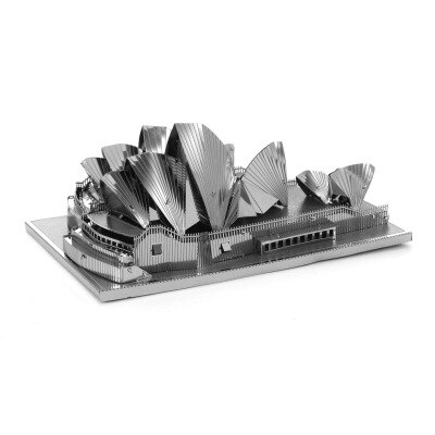 3D Metal Model Building Kits - Famous Buildings - 0