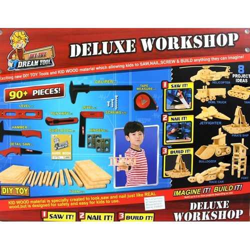 Wood Workshop Kit For Kids 5