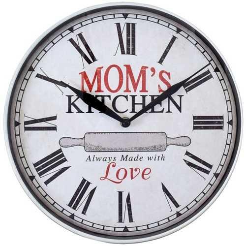 Westclox 12-inch Moms Kitchen Wall Clock