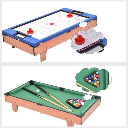 4 In 1 Multi Game Hockey Tennis Football Pool Table 4