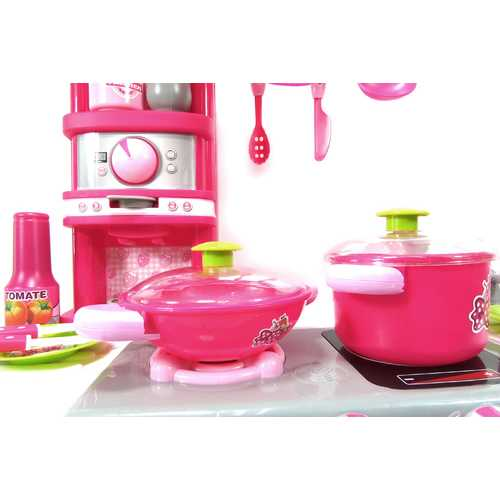 Deluxe Kitchen Appliance Cooking Play Set 4