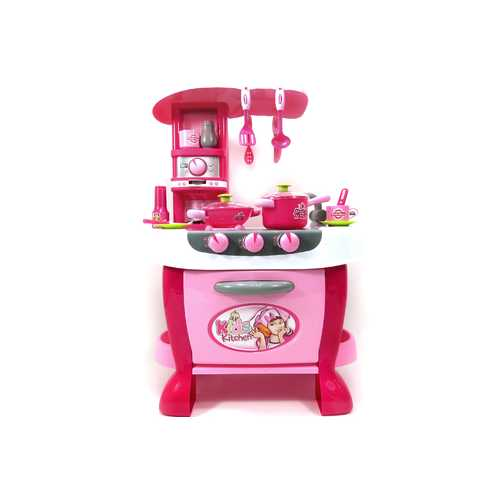 Deluxe Kitchen Appliance Cooking Play Set 1