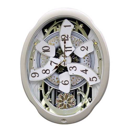 Moving Face Pendulum Wall Clock - Plays Melodies Every Hour 1