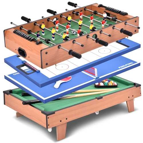 4 In 1 Multi Game Hockey Tennis Football Pool Table 3