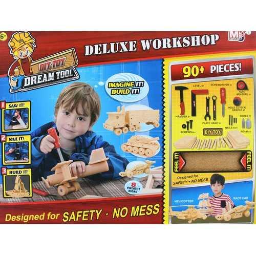 Wood Workshop Kit For Kids 3