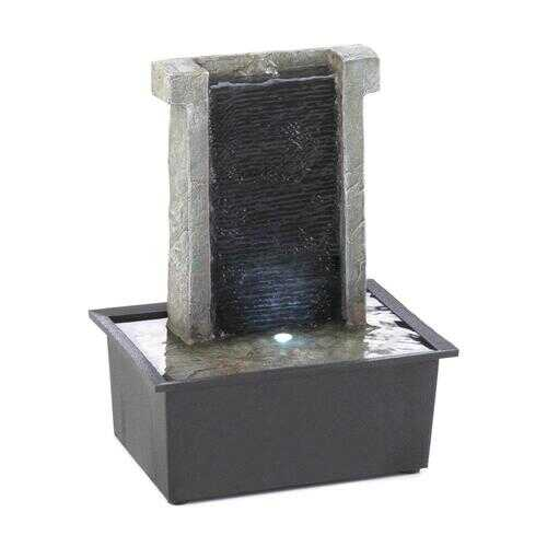 Stone Wall Tabletop Fountain 1