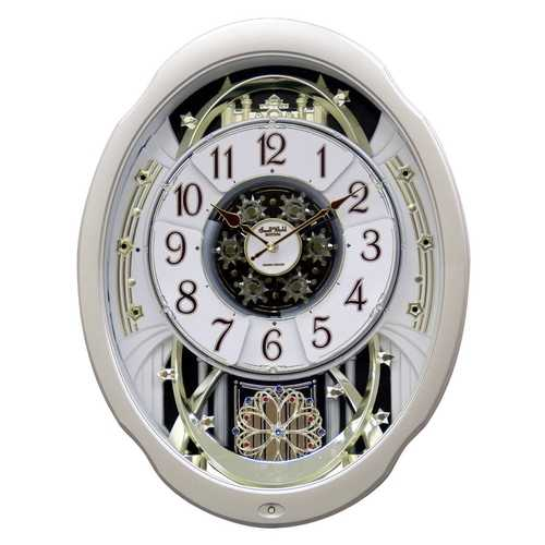 Moving Face Pendulum Wall Clock
