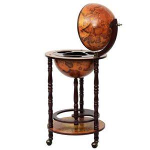 Vintage Globe Wine Stand