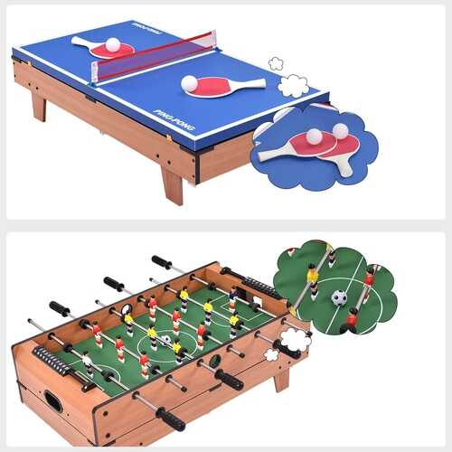 4 In 1 Multi Game Hockey Tennis Football Pool Table 6