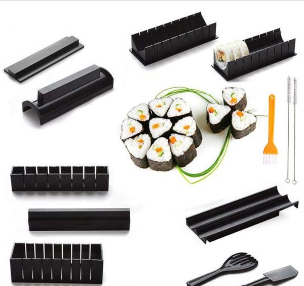 Sushi Making Kit - 11 Piece Set - 0