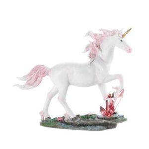 Unicorn Crystals Figurine