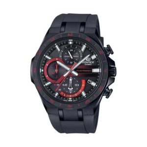 Casio Edifice Black Stainless Steel Chronograph Watch