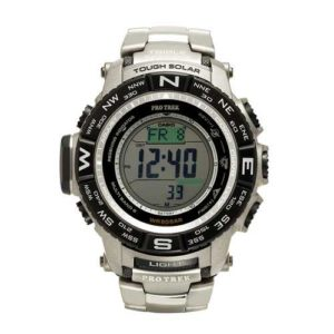 Casio Mens Pro Trek Tough Solar Digital Sport Watch