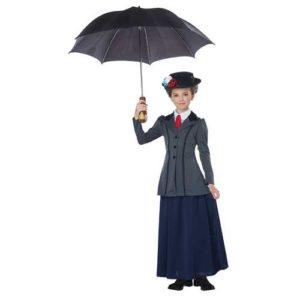 English Nanny Child Costume