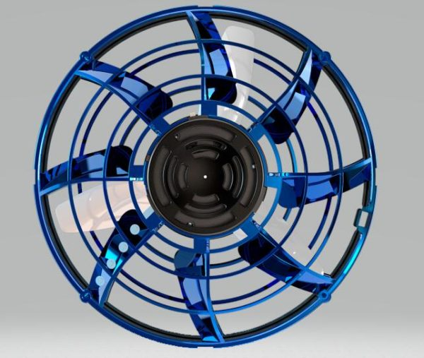 Flying Spinner Toy - top