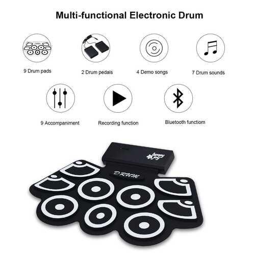 Electronic Drum Set. 5
