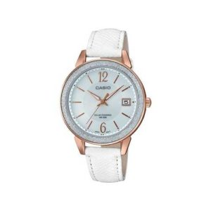 Casio Women's White Leather Bracelet Watch