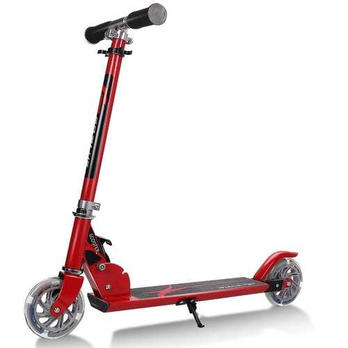 Kids Kick Scooter - Red 3