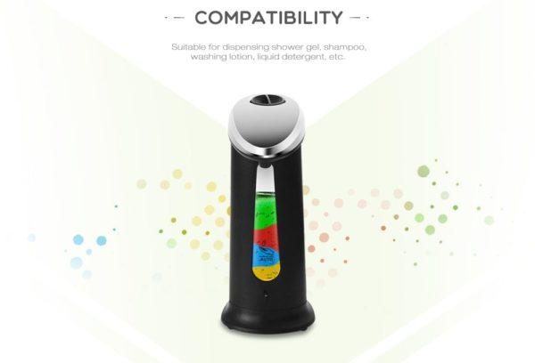 400Ml Automatic Liquid Soap Dispenser 2