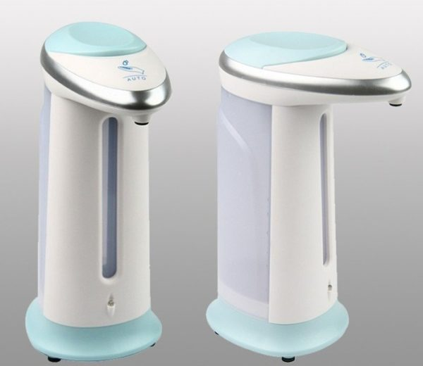 400Ml Automatic Liquid Soap Dispenser - Blue