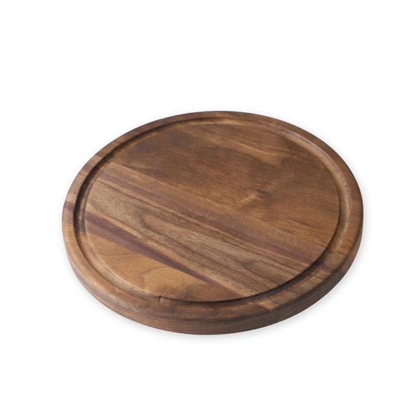 Black Walnut Chopping Board - Cricle