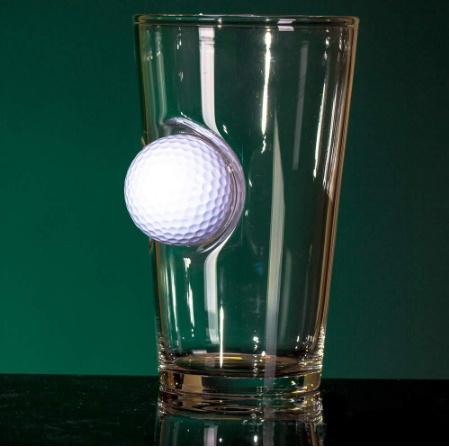 Golf Ball Beer Glass - 2