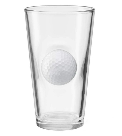 Golf Ball Beer Glass 1