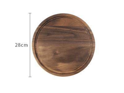 Black Walnut Chopping Board - Circle
