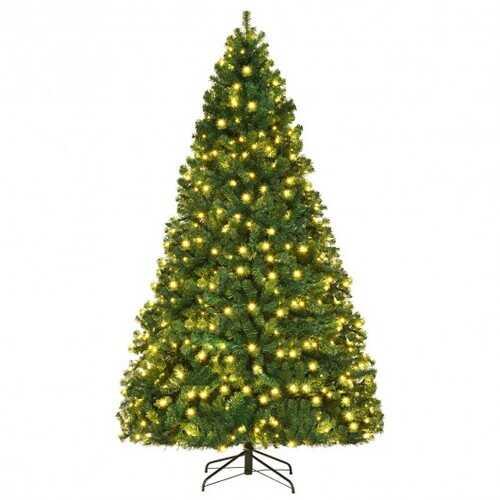 PVC Artificial Christmas Tree - 8ft 3