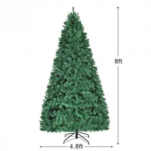 PVC Artificial Christmas Tree - 8ft 5