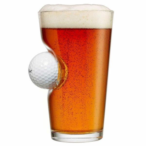 Golf Ball Beer Glass