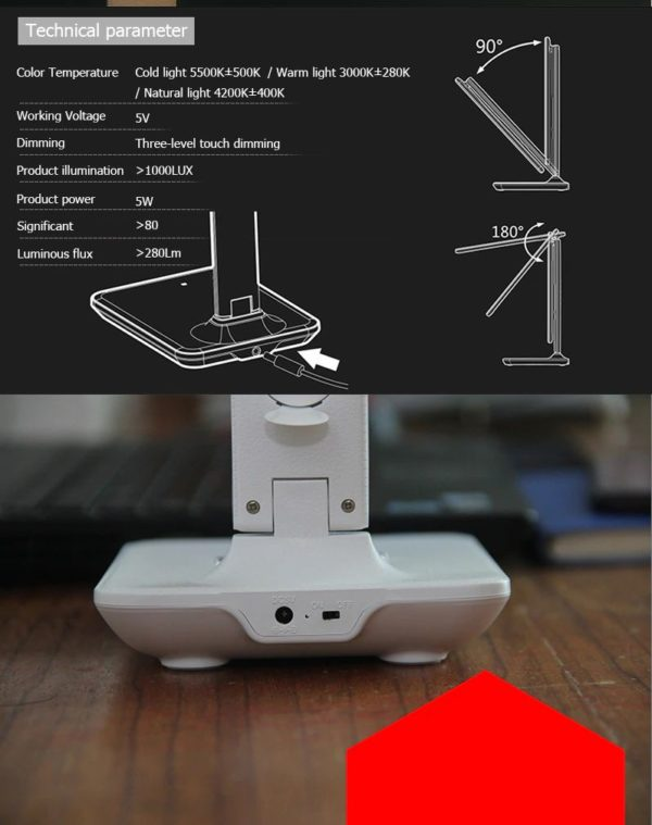 Modern Led Office Desk Lamp-1