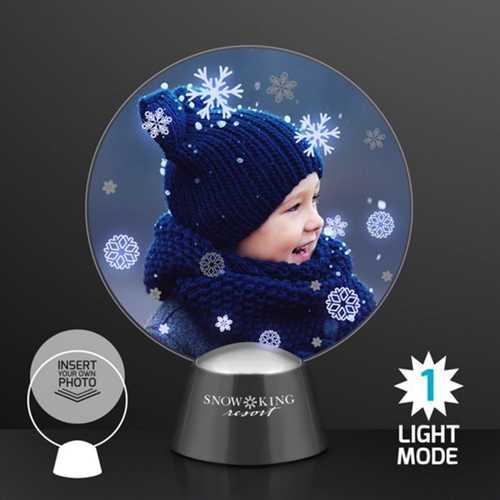 Animated Snowflake Winter Wonderland Picture Frame