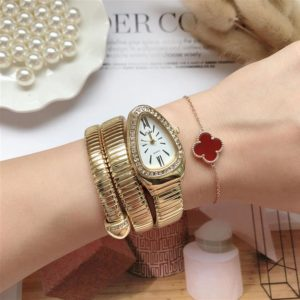 Womens Snake Bracelet Watch