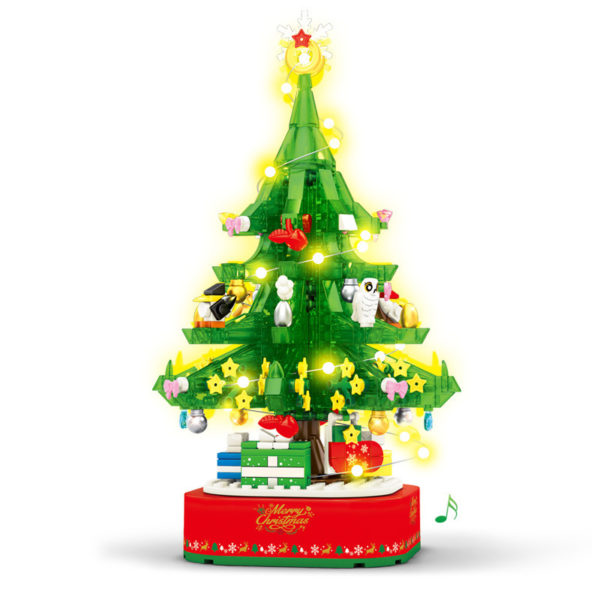 Christmas Tree - Building Blocks