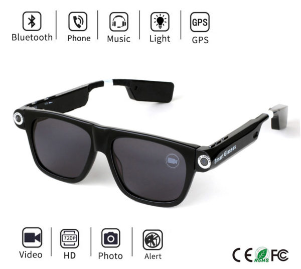 Panoramic Camera Smart Glasses 1