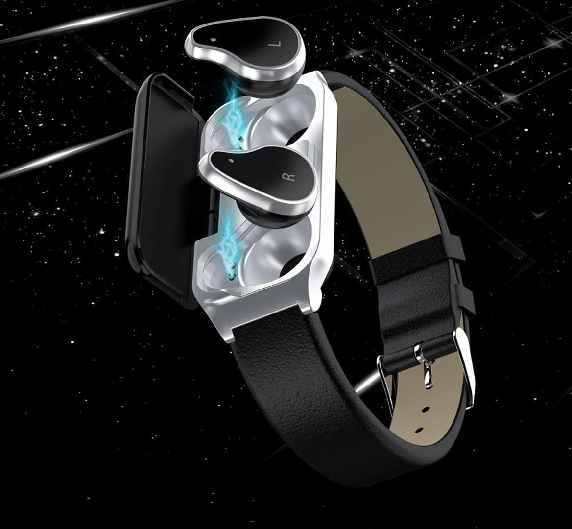 Fitness Smart Watch with Bluetooth Earphones - 13