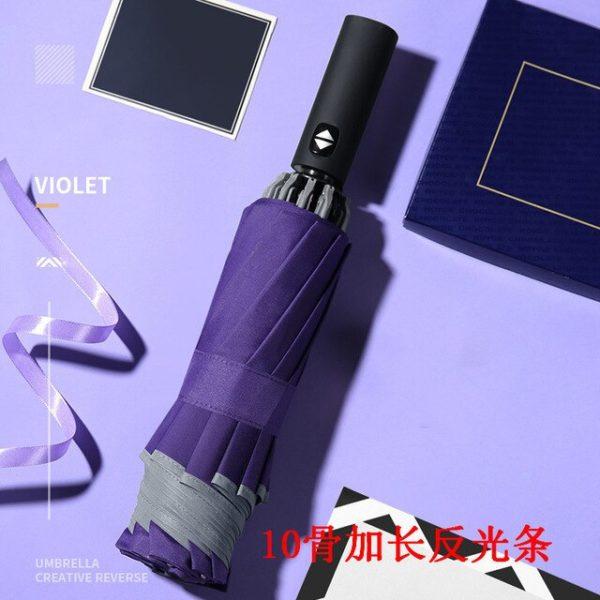 Inverse LED Umbrella - Violet