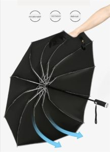 Inverse LED Umbrella - Strong