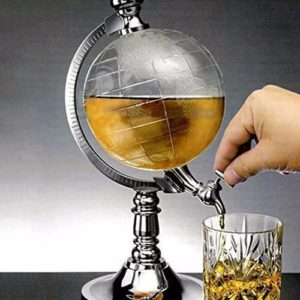Globe Shaped Liquor Dispenser
