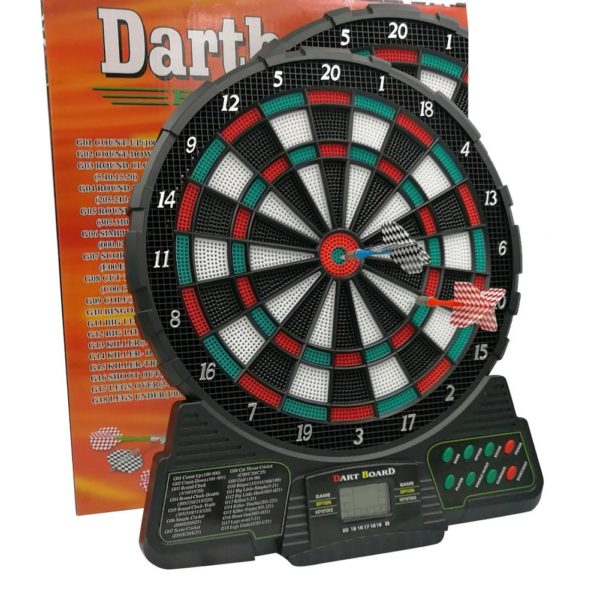 Electronic Dartboard With Automatic Scoring 1